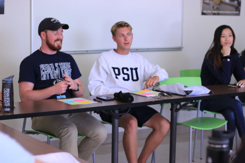 Penn State students from across the commonwealth participate in leadership educational sessions