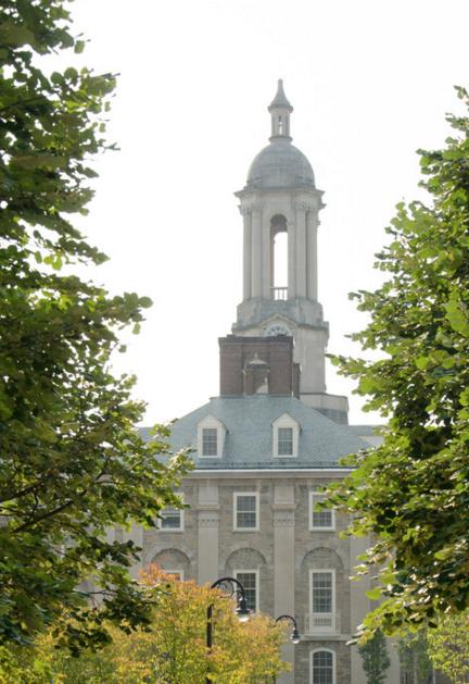 Old Main in Summer