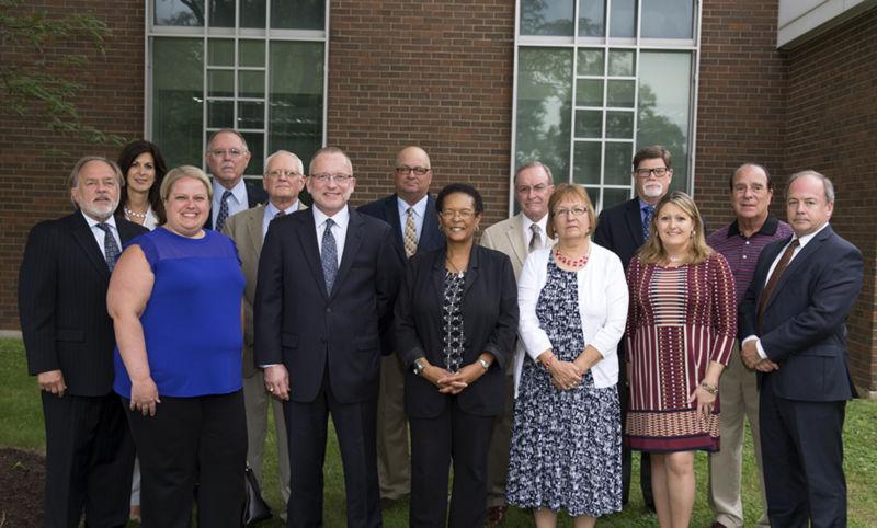 Penn State Fayette Advisory Board memebers.