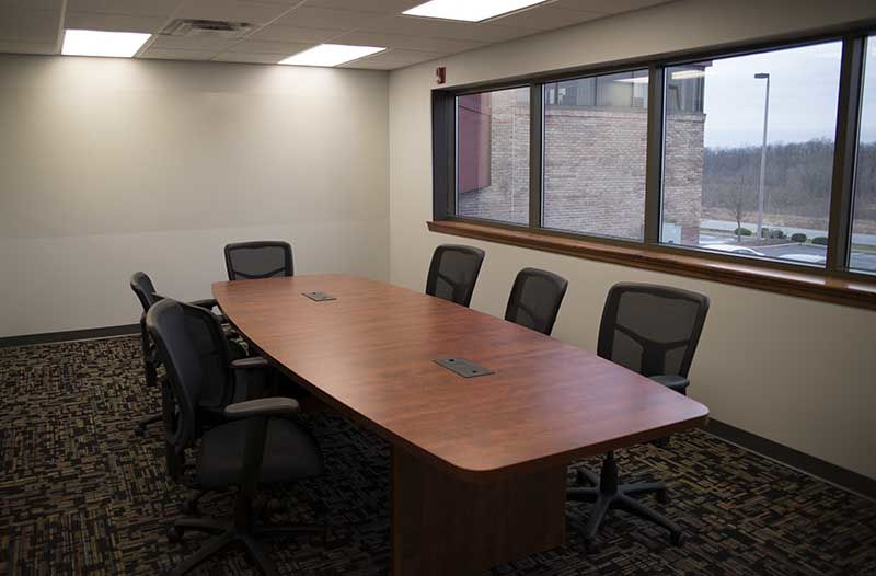 Conference Room in the LaunchBox.