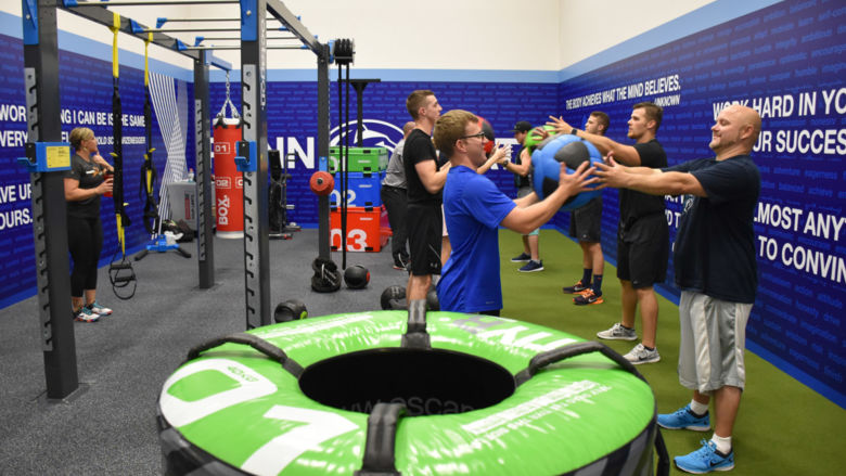 Cross-Training and Group Fitness Center, which is available to students.