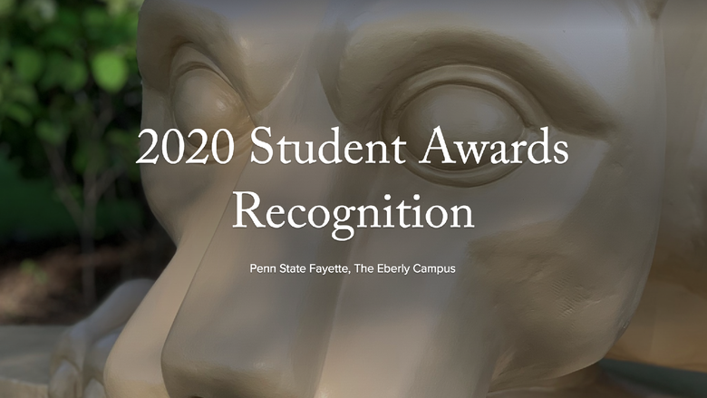 The 54th Annual Student Awards Recognition featured winners in an online gallery.