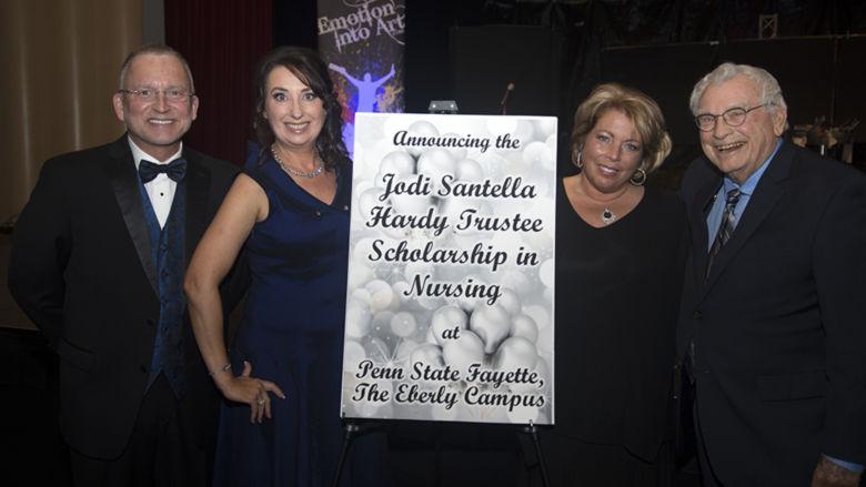 Charles Patrick, Lori Omatick, Jodi Santella Hardy, and Joe Hardy