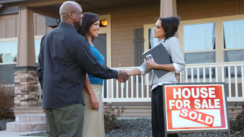 Realtor selling a house.
